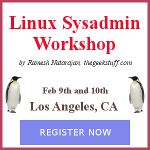 Linux Sysadmin Workshop