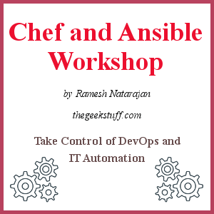 [Chef and Ansible Workshop]