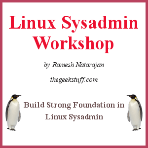 [Linux Sysadmin Workshop]