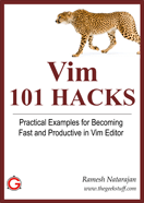 Vim 101 Hacks Book