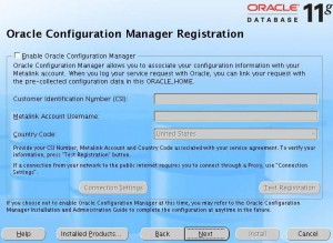 [Oracle Configuration Manager]