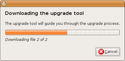 Ubuntu - Download Upgrade Tool