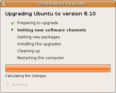 Ubuntu - Setting new Software Channels