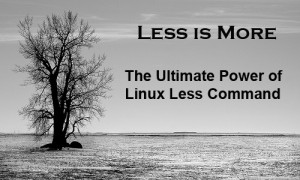 Less is More - The Ultimate Power of Linux Less Command