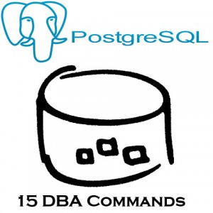 PostgreSQL DBA Commands