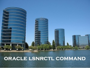 Oracle 11g lsnrctl Command
