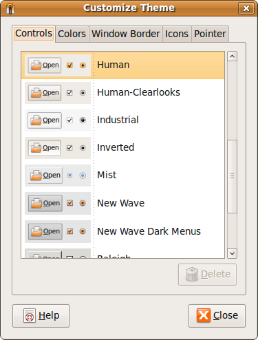 Fig: Customize Ubuntu Themes