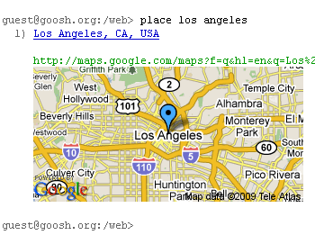 Fig: Locate Address in Google Map
