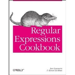 Regular Expressions Cookbook Review