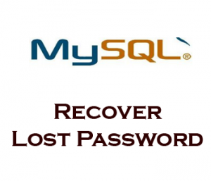 Recover MySQL Root Password on Ubuntu and Debian