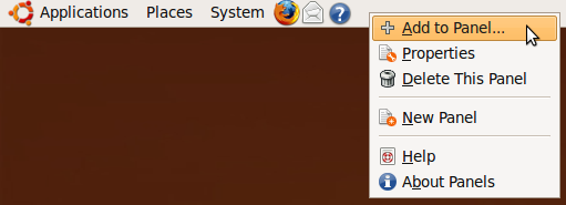 Add System Monitor Graph to Ubuntu Task Bar