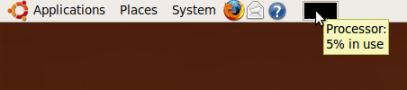 Ubuntu Displaying Processes Icon on Task Bar Panel