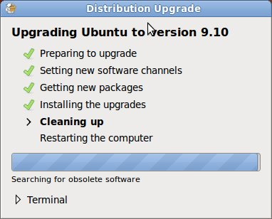 File Cleanup after Ubuntu Upgrade 9.10