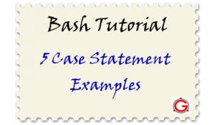 case command