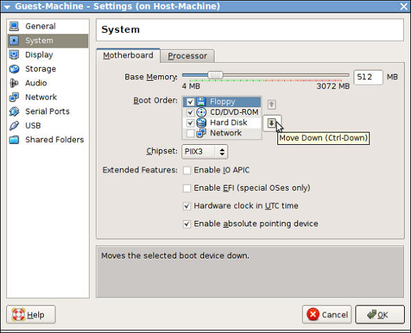 how to create a virtual box using iso file