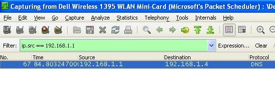 THE LINUX STUFF: Wireshark Display Filter Examples (Filter