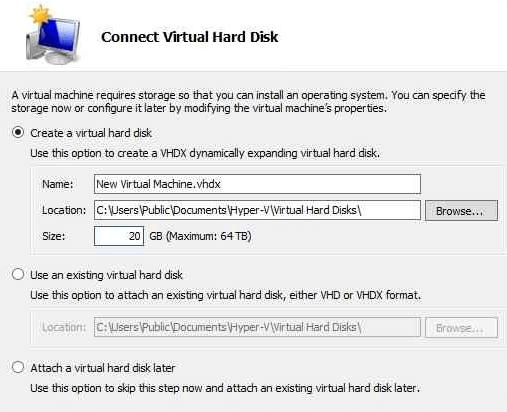 Hyper-V Virtual Hard Disk
