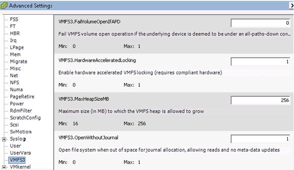 ESXi VMFS3