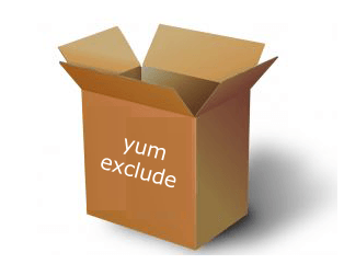 Yum Exclude