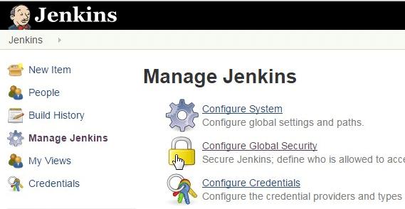 Jenkins Manage Jenkins
