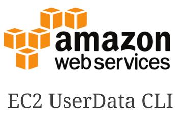 AWS EC2 UserData CLI