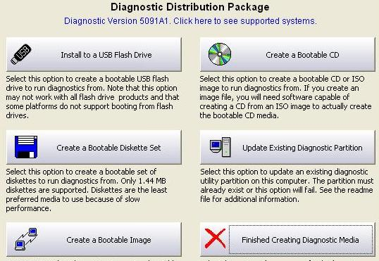 Dell Diagnostics - Bootable Media