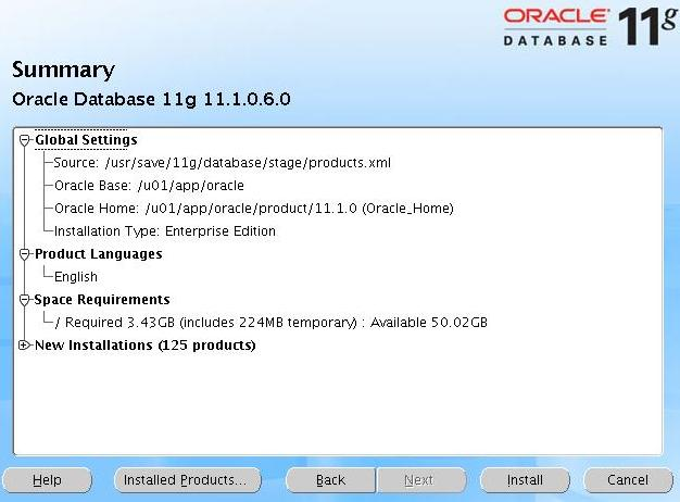 Oracle 11g Installation Download