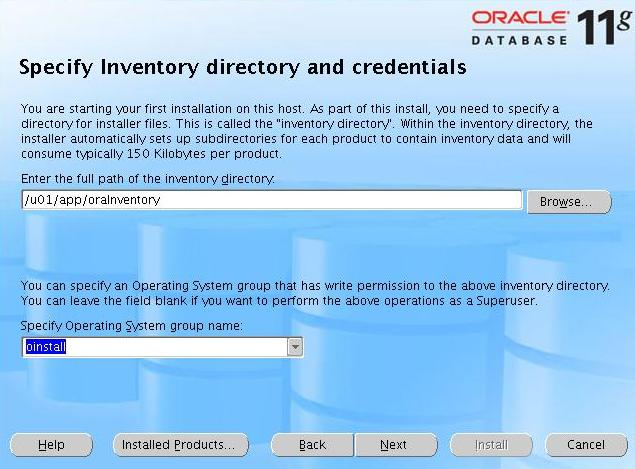 Oracle 11g step-by-step Installation Guide with Screenshots