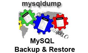 [mysqldump - MySQL Backup & Restore]