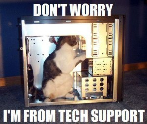 [Tech Support by a Cat]