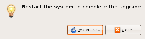 Ubuntu - Restart after Upgrade