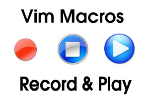 Vim Macros - Record and Play