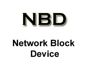 Network Block Device - NBD