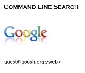Goosh Google Command Line Shell for Linux