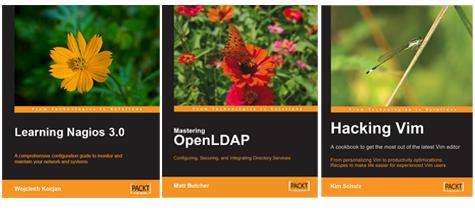 Nagios, OpenLDAP, Vim Editor Book