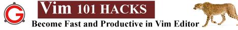 Vim 101 Hacks