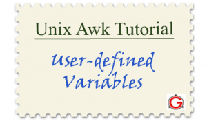 Linux Awk Tutorial - User-defined and Built-in Awk Variables
