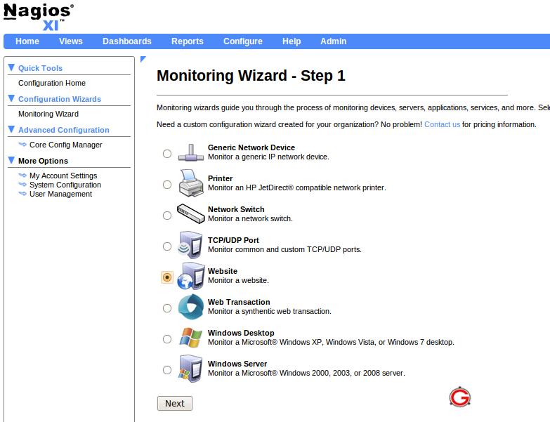 Network Bandwidth Nagios Dashboard : Nagios xi review free core vs
