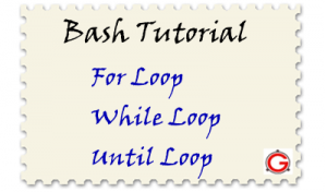 Keeping You in the Loop – Bash For, While, Until Loop Examples