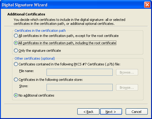 How to Digitally Sign Microsoft Files ( exe,  cab,  dll