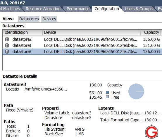 Vmware Esxi 4 How To Add Vmfs Datastore Using Vsphere