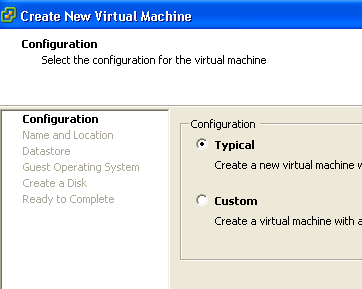 VMware: How to Create Virtual Machine and Install Guest OS using