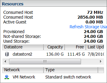 VMWare ESXi 4: How to Add Virtual Hard Disk (from Datastore) to a VM