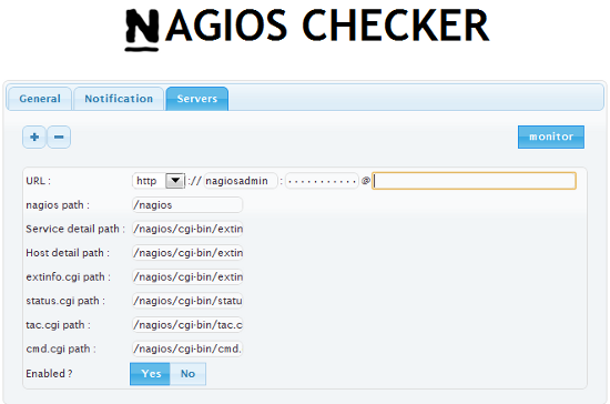 How to Setup Nagios Checker Extension for Chrome and Firefox