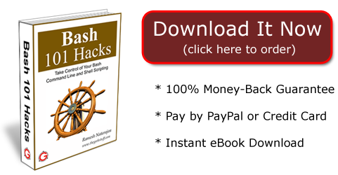 Get Your Copy of Bash 101 Hacks eBook