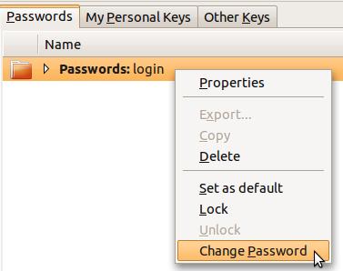 How to Change Ubuntu Login Keyring Password (Unlock Login