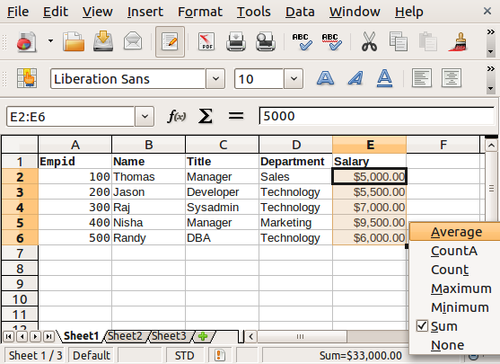 20 OpenOffice Calc Spreadsheet Tips and Tricks