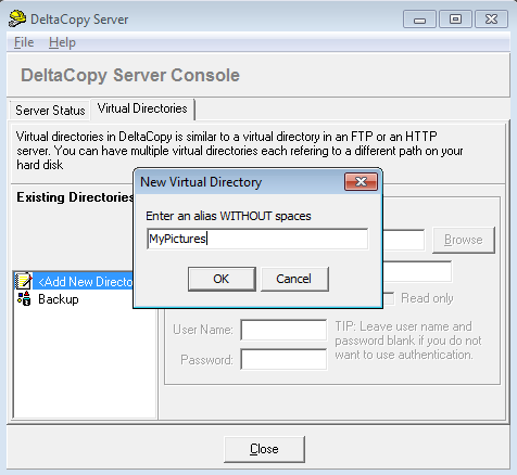 How to Setup Rsync for Windows Using DeltaCopy