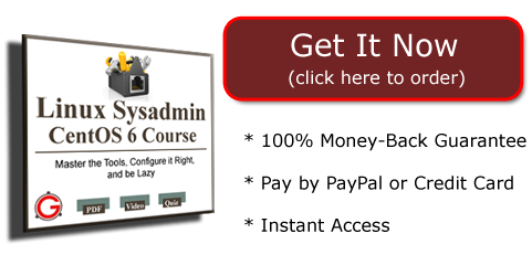 Get Your Access to Linux Sysadmin CentOS 6 Course