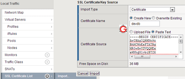 How to Setup F5 HTTPS SSL Load Balancing in Big-IP